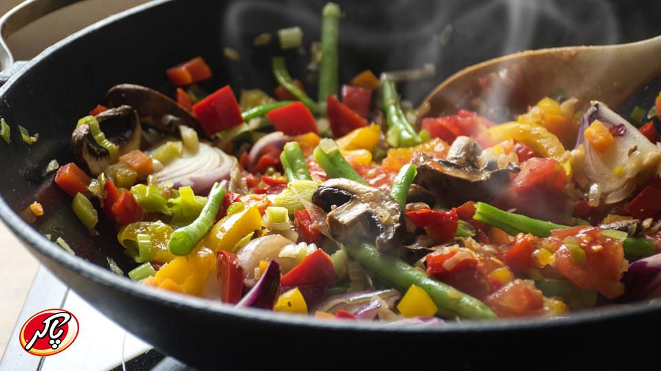آیا سبزیجات سرخ شده ارزش غذایی خود را حفظ میکنند؟